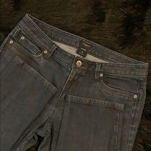 Ann Taylor Modern Fit Stretch Low Rise Jeans 10